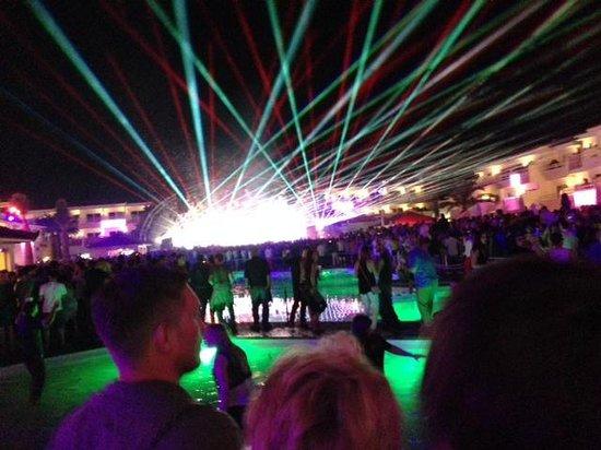 Ushuaia Ibiza Beach Hotel: Escenario