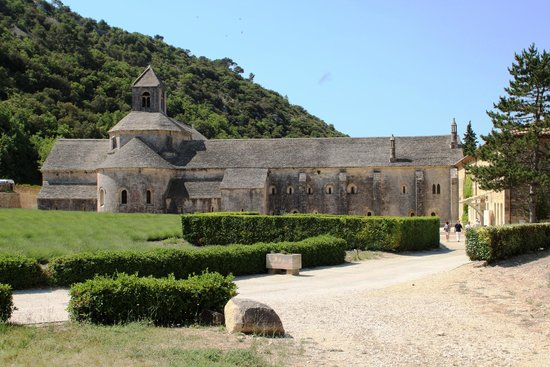 Abbaye Notre-Dame de Sénanque : Campi interni