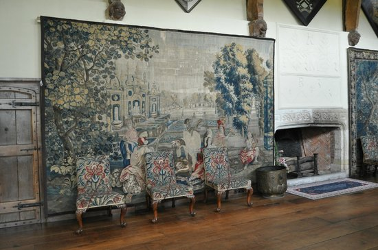 Packwood House: 'Africa' wool and silk tapestry c.1680-1720 Flemish
