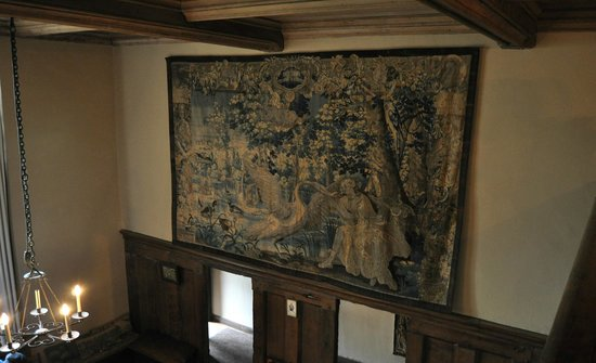 Packwood House: 'Leda and the Swan' Flemish tapestry 1660-1680