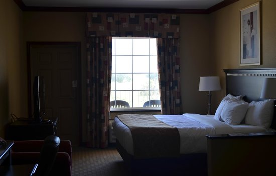 Comfort Suites Galveston : The suite with the ocean outside