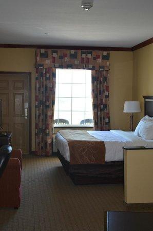 Comfort Suites Galveston: The door leads to the balcony