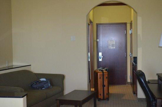 Comfort Suites Galveston: Our suite