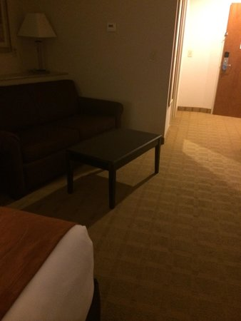 Comfort Suites: 2 queen suite with pull out couch