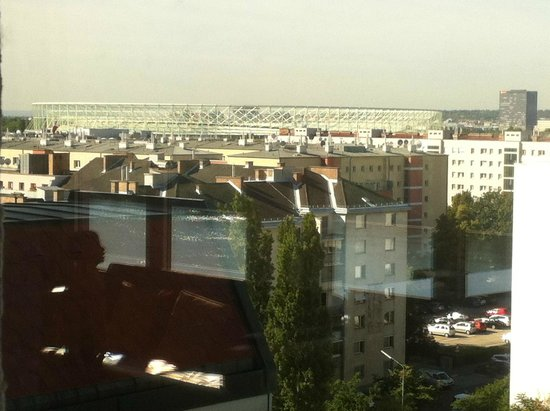 Hilton Vienna Danube Waterfront: View from the executive lounge