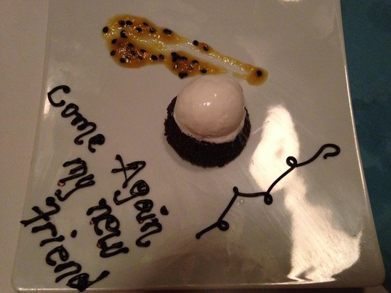 Sugar Ridge Resort : love the pastry chef!