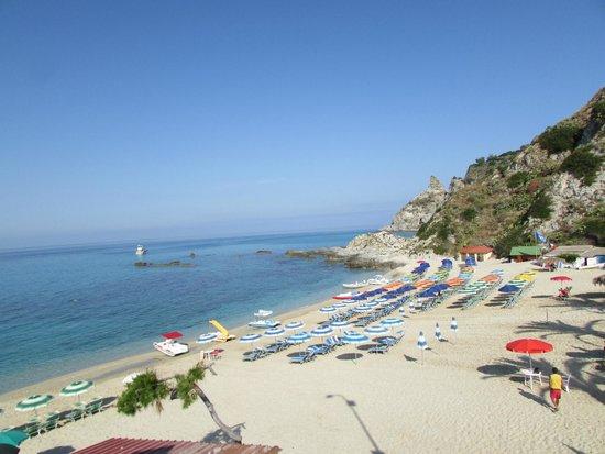 Hotel Grotticelle: Пляж Гроттичелли роскошен и безопасен
