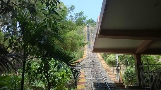 Palani Murugan Temple: The Winch path that leads to top of the temple