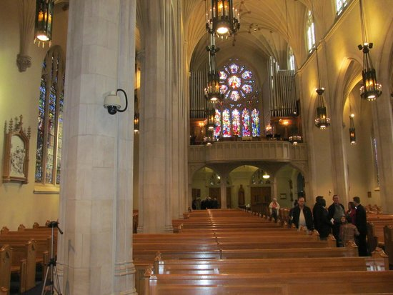 Cathedral of Christ the King: Interior back