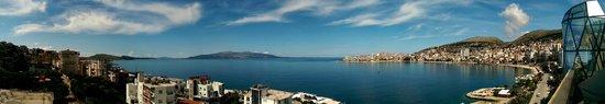 Hotel Brilant : Blick vom Balkon