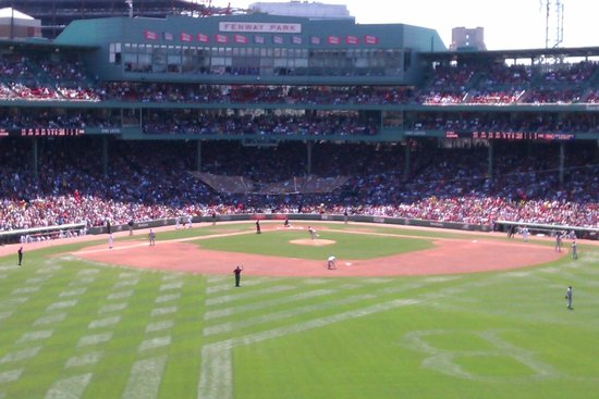 Fenway Park from the Bleechers
