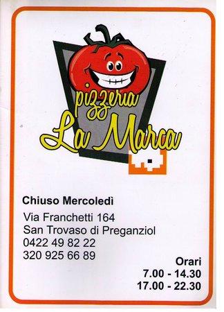 Preganziol, Italy: Pizzeria La Marca
