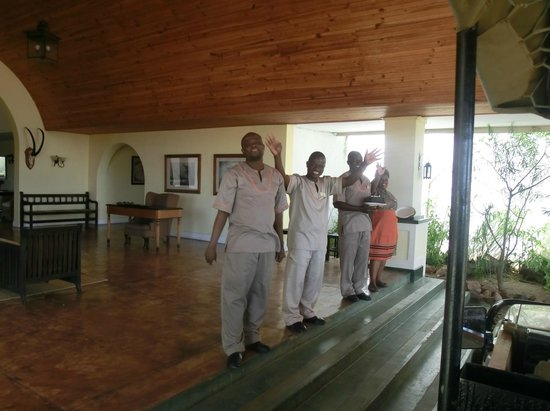 Sanctuary Chichele Presidential Lodge : Arriving at Chichele