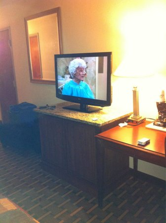 Days Inn Fayetteville-South/I-95 Exit 49: Nice flat screen TV