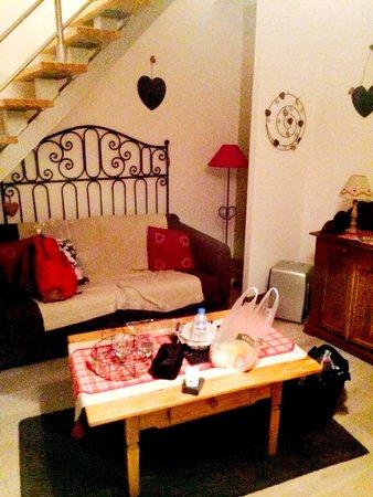 L'Ecurie : living room