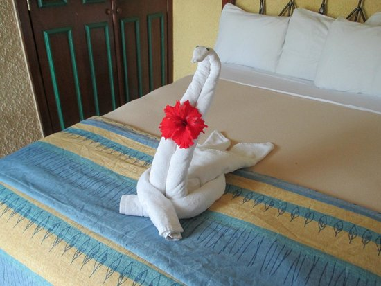 Iberostar Cozumel : ok you get it in every hotel. but it is cute.