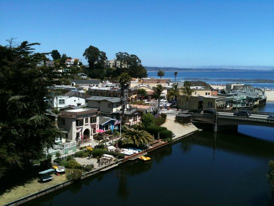 View of the beach area from E. Cliff Drive Capitola, CA