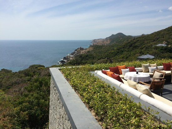 Amanoi: Breakfast with a view