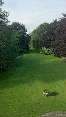 Letham House: garden