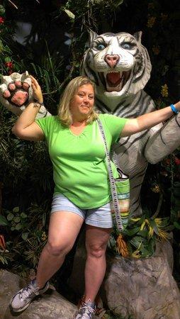 Downtown Aquarium : haha! Tiger Princess!