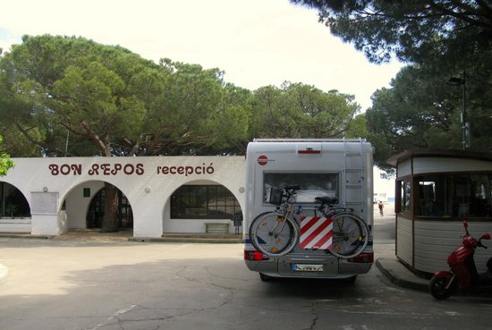 Camping Bon Repos: Empfang/Rezeption