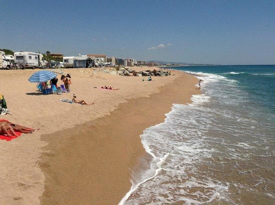 Camping Bon Repos : Stellplätze direkt am Strand