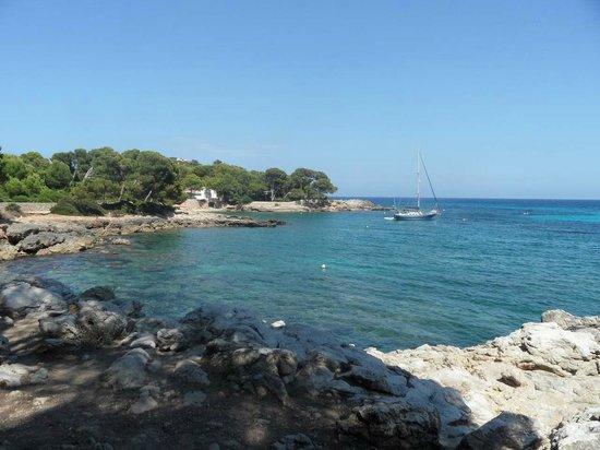 Beach Club Font de Sa Cala: la crique près de la plage à 50 m de l'hôtel