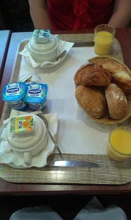 Avenir Hotel : Стандартный завтрак
