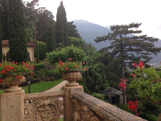 Villa del Balbianello: garden
