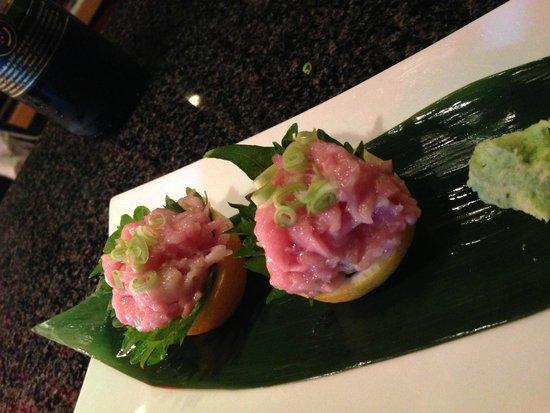 Red Lantern Sushi : Bluefin Negi Toro
