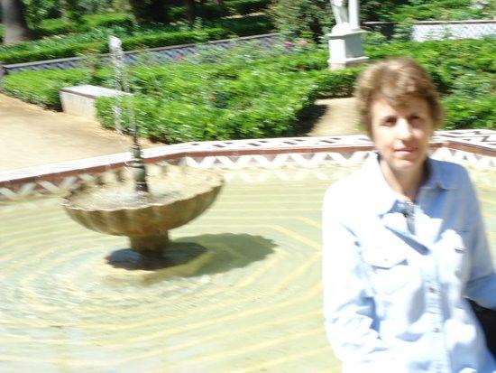 Parque de Maria Luisa: Fuentes de agua por todos lados...