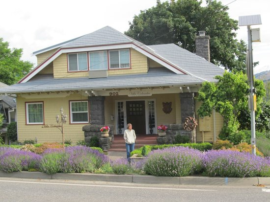 Villa Columbia Bed and Breakfast: Lavender in bloom