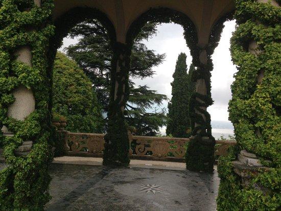 Villa del Balbianello: loggia
