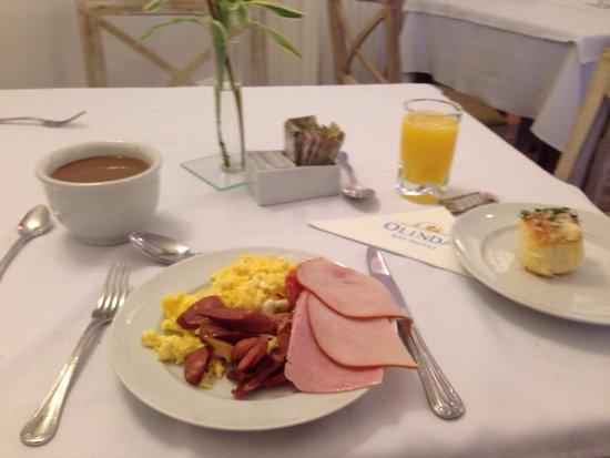 Olinda Rio Hotel: Завтрак
