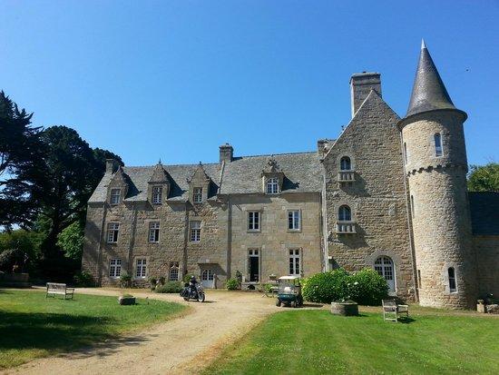 Château de Kergouanton : Le chateau