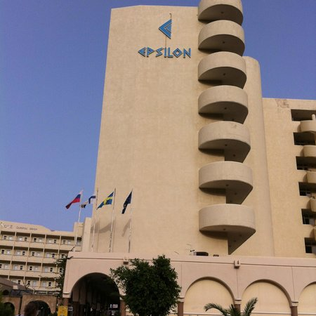 Ammades Epsilon Apartments : Hotel & Grounds