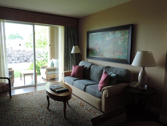 Kings' Land by Hilton Grand Vacations: Living room