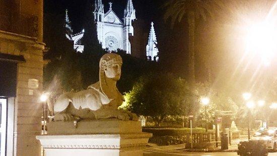 Catedral de Mallorca : Vista nocturna