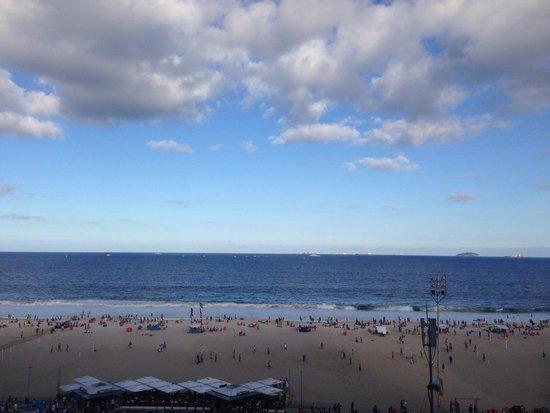 Olinda Rio Hotel: Вид из окна
