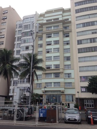 Olinda Rio Hotel: Вид с пляжа