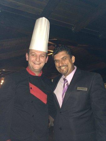Atrium Palace Thalasso Spa Resort & Villas : Savvas & the chef