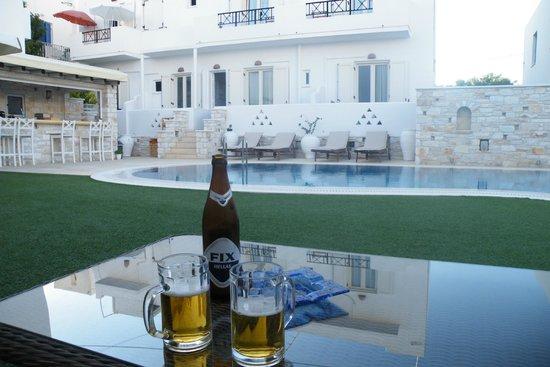 Anna Platanou Hotel: Piscine