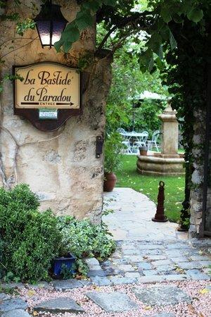 La Bastide du Paradou : Entrata