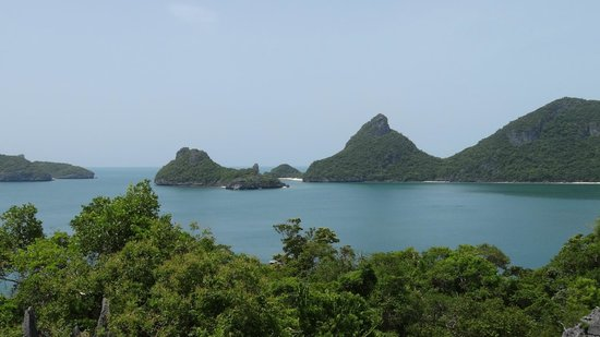 Orion Boat Trips - Day tours: View of some of the islands from the Lagoon view point