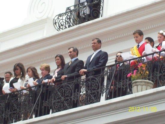 Hostal Vista Amazonas: no dia que o presidente estava discursando