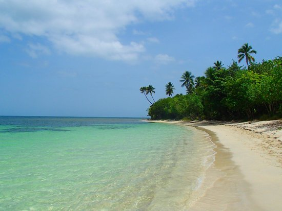 Buye Beach: far end of the beach - considerably more secluded  (Walk to the water and turn right.)