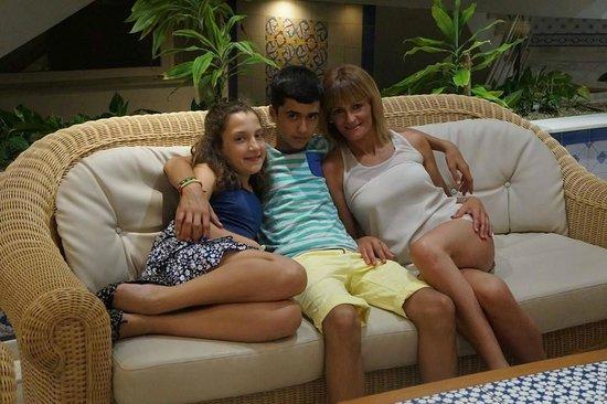 Playasol Spa Hotel: mis niños