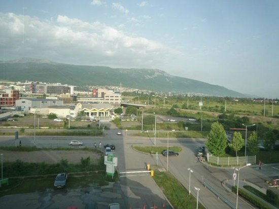 Holiday Inn Sofia: view from room