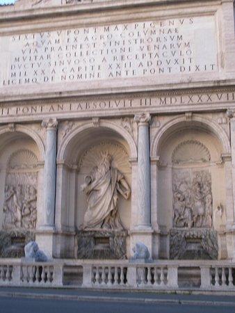 Via XX Settembre : The Moses Fountain