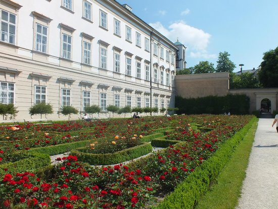 Palais et jardins de Mirabell : Розарий